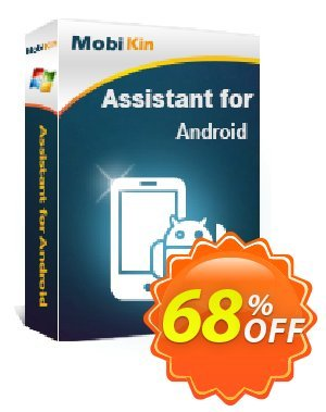 MobiKin Assistant for Android Coupon discount 50% OFF -