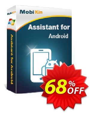 MobiKin Assistant for Android promo 50% OFF. Promotion: