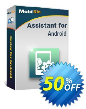 MobiKin Assistant for Android (Mac) - Lifetime, 16-20PCs License Coupon, discount 50% OFF. Promotion: