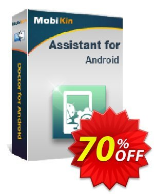 MobiKin Assistant for Android  (Mac) - 1 Year, 1 PC License Coupon, discount 50% OFF. Promotion: