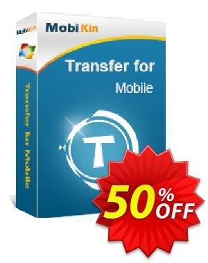 MobiKin Transfer for Mobile - Lifetime, 2-5PCs License discount coupon 50% OFF -