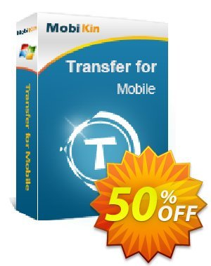 MobiKin Transfer for Mobile - 1 Year, 1 PC License discount coupon 50% OFF -