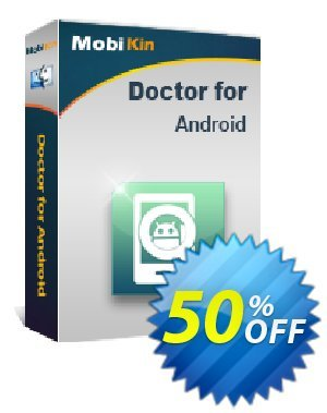 MobiKin Doctor for Android (Mac) Coupon discount 50% OFF -