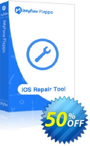 iMyfone Fixppo For Mac - 15 iDevices Lifetime discount coupon iMyfone discount (56732) - iMyfone promo code
