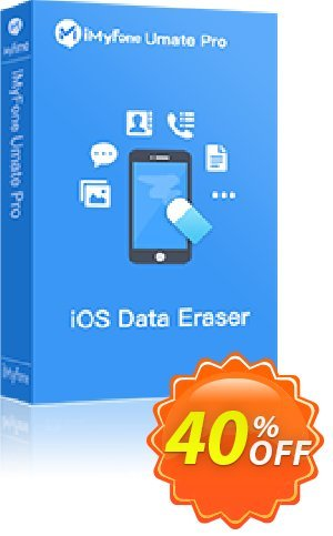 iMyFone Umate Pro (Lifetime/11-15 iDevices) discount coupon iMyfone discount (56732) - iMyfone promo code