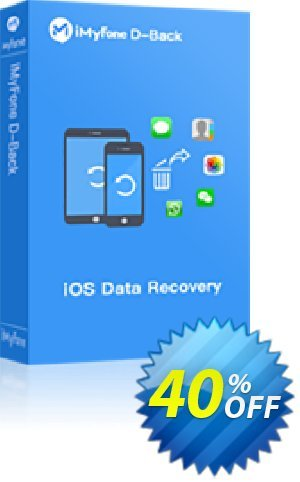 iMyFone D-Back  (Lifetime/16-20 iDevices) discount coupon iMyfone discount (56732) - iMyfone promo code