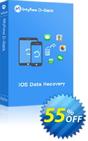 Get iMyfone D-Back for Mac 48% OFF coupon code