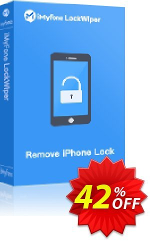 iMyFone LockWiper (Lifetime/11-15 iDevices) Coupon, discount iMyfone LockWiper (Windows version) discount (56732). Promotion: iMyfone promo code