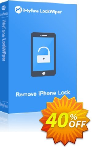iMyFone LockWiper (Lifetime/16-20 iDevices) Coupon, discount You Are Purchasing iMyFone LockWiper for Windows discount (56732). Promotion: iMyfone promo code