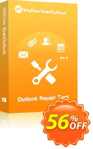 Get iMyFone ScanOutlook (1 Year) 34% OFF coupon code