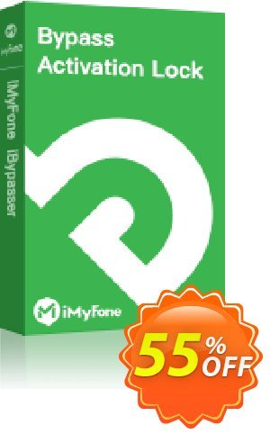 iMyFone iBypasser for MAC Lifetime discount coupon 55% OFF iMyFone iBypasser for MAC Lifetime, verified - Awful offer code of iMyFone iBypasser for MAC Lifetime, tested & approved