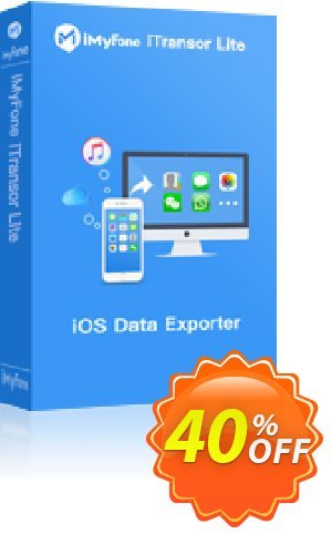 iMyFone iTransor Lite for Mac (Business) Coupon, discount iMyfone discount (56732). Promotion: iMyfone promo code