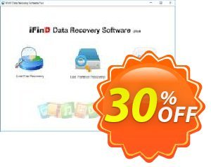 Get iFinD Data Recovery Plus 25% OFF coupon code