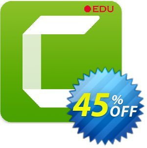Camtasia 2019 (Education price) Coupon discount 33% OFF Camtasia 2019, verified. Promotion: Impressive promo code of Camtasia 2019, tested & approved