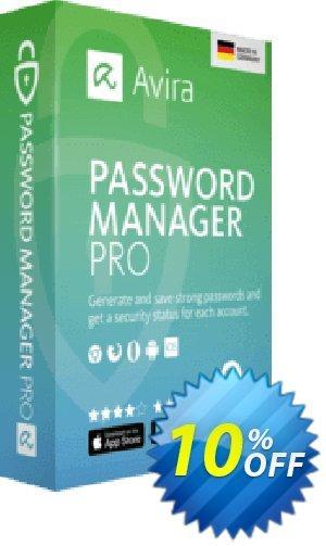 Get Avira Password Manager 10% OFF coupon code
