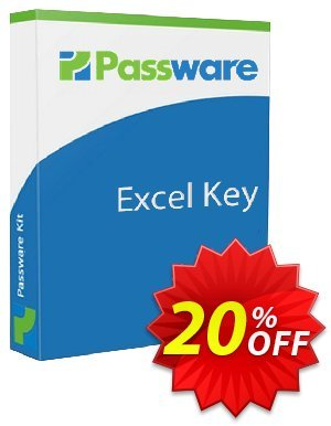 Passware Excel Key 優惠券,折扣碼 20% OFF Passware Excel Key, verified,促銷代碼: Marvelous offer code of Passware Excel Key, tested & approved