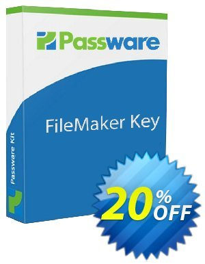 Passware FileMaker Key discount coupon 20% OFF Passware FileMaker Key, verified - Marvelous offer code of Passware FileMaker Key, tested & approved