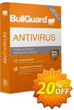 BullGuard Antivirus 2021 Coupon, discount BullGuard 2021 Antivirus 1-Year 3-PCs at USD$29.95 awful discounts code 2021. Promotion: awful discounts code of BullGuard 2021 Antivirus 1-Year 3-PCs at USD$29.95 2021