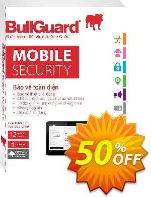 BullGuard Mobile Security Coupon, discount 50% OFF BullGuard Mobile Security, verified. Promotion: Awesome promo code of BullGuard Mobile Security, tested & approved