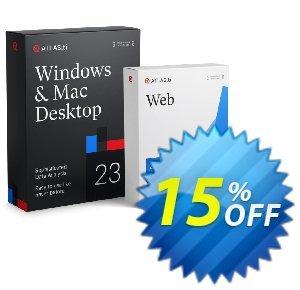 ATLAS.ti 9 Coupon discount 15% OFF ATLAS.ti 9, verified