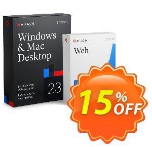 ATLAS.ti personalized single user (PC, Mac + Web) discount coupon 15% OFF ATLAS.ti personalized single user (PC, Mac + Web), verified - Best deals code of ATLAS.ti personalized single user (PC, Mac + Web), tested & approved