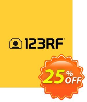 123RF Subscription Plan discount coupon 25% OFF 123RF Subscription Plan, verified - Exclusive discounts code of 123RF Subscription Plan, tested & approved