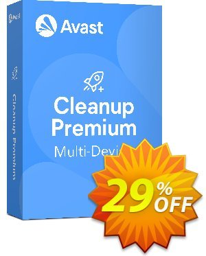 Avast Cleanup Premium 10 Devices discounts 29% OFF Avast Cleanup Premium 10 Devices, verified. Promotion: Awesome promotions code of Avast Cleanup Premium 10 Devices, tested & approved