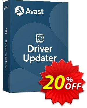 Avast Driver Updater discounts 20% OFF Avast Driver Updater, verified. Promotion: Awesome promotions code of Avast Driver Updater, tested & approved