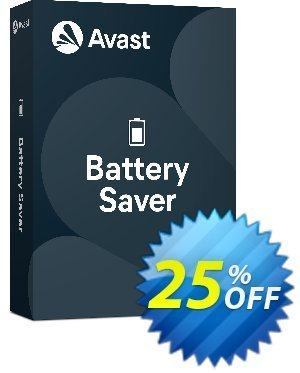 Avast Battery Saver discounts 25% OFF Avast Battery Saver, verified. Promotion: Awesome promotions code of Avast Battery Saver, tested & approved