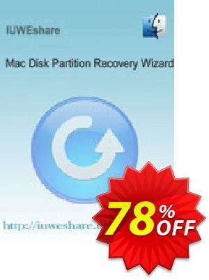 IUWEshare Mac Disk Partition Recovery Wizard Coupon, discount IUWEshare coupon discount (57443). Promotion: IUWEshare coupon codes (57443)