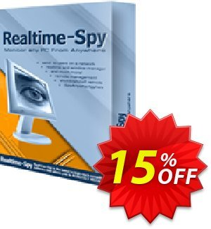 Spytech Realtime-Spy Standard Edition Coupon, discount 15% OFF Spytech Realtime-Spy Standard Edition Oct 2020. Promotion: Super discounts code of Spytech Realtime-Spy Standard Edition, tested in October 2020