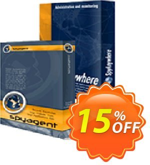SpyAgent/SpyAnywhere Remote Spy Suite STEALTH Edition Coupon discount 15% OFF SpyAgent/SpyAnywhere Remote Spy Suite STEALTH Edition Oct 2020. Promotion: Super discounts code of SpyAgent/SpyAnywhere Remote Spy Suite STEALTH Edition, tested in October 2020