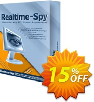 Spytech Realtime-Spy Mobile Standard Edition Coupon discount 15% OFF Spytech Realtime-Spy Mobile Standard Edition Oct 2020. Promotion: Super discounts code of Spytech Realtime-Spy Mobile Standard Edition, tested in October 2020