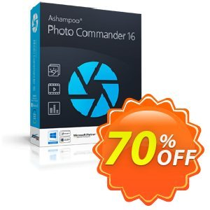 Ashampoo Photo Commander 15 Coupon, discount Brothersoft 30 Prozent Coupon. Promotion: