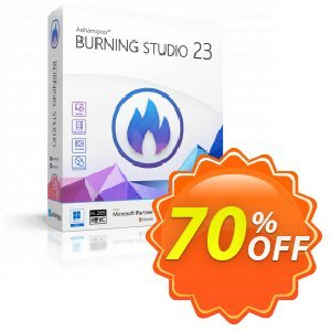 Ashampoo Burning Studio Coupon, discount Ashampoo Burning Studio 15 Coupon. Promotion: