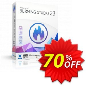 Ashampoo Burning Studio 18 Coupon, discount Brothersoft 30 Prozent Coupon. Promotion: