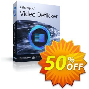 Ashampoo Video Deflicker Coupon, discount 50% OFF Ashampoo Video Deflicker, verified. Promotion: Wonderful discounts code of Ashampoo Video Deflicker, tested & approved