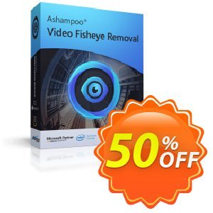 Ashampoo Video Fisheye Removal Coupon discount 50% OFF Ashampoo Video Fisheye Removal, verified