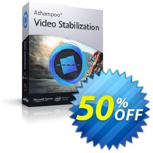 Ashampoo Video Stabilization Coupon discount 50% OFF Ashampoo Video Stabilization, verified