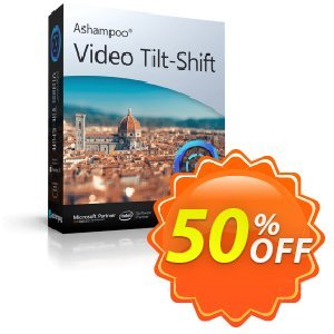 Ashampoo Video Tilt-Shift Coupon, discount 50% OFF Ashampoo Video Tilt-Shift, verified. Promotion: Wonderful discounts code of Ashampoo Video Tilt-Shift, tested & approved