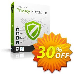 Ashampoo Privacy Protector 優惠券,折扣碼 30% OFF Ashampoo® Privacy Protector,促銷代碼: