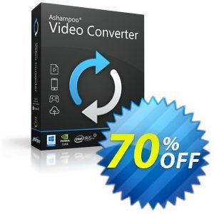 Ashampoo Video Converter 프로모션 코드 Ashampoo Video Converter Coupon 프로모션:
