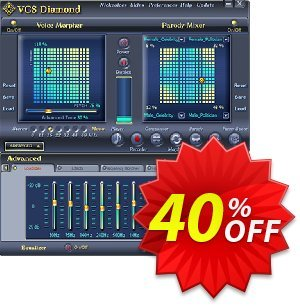 AV Voice Changer Software Diamond 7.0 Coupon discount Voice Changer Diamond 7.0 coupon. Promotion: AV Voice Changer Software Diamond 7 discount REVCD740OFF
