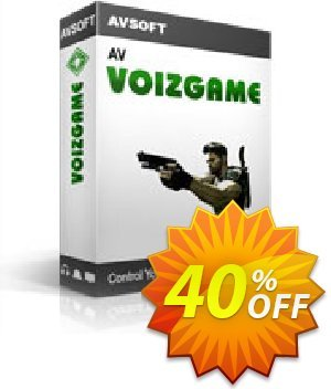 AV VoizGame Coupon, discount AV VoizGame, voice changer for gamming Kick Start 2020. Promotion: AV VoizGame Discount code  AVSO-30OFFALL; AVSO-MC5H-BLHP