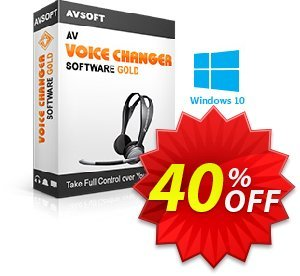AV Voice Changer Software Gold Coupon discount 20% Voice changer gold discount. Promotion: AV Voice Changer Software Gold Discount 20% AVSO-30OFFALL; AVSO-MC5H-BLHP