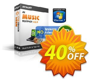 AV Music Morpher Gold Coupon discount Audio4fun Music morpher discount 30% OFF. Promotion: AV Music Morpher Gold Discount, AVSO-MC5H-BLHP