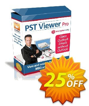 PST Viewer Pro Coupon, discount Encryptomatic discount (6573). Promotion: Encryptomatic coupons (6573)