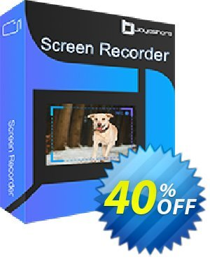 JOYOshare Screen Recorder for Mac Family License discount coupon 40% OFF JOYOshare Screen Recorder for Mac Family License, verified - Fearsome sales code of JOYOshare Screen Recorder for Mac Family License, tested & approved