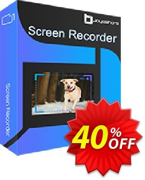 JOYOshare Screen Recorder for Mac Unlimited License discount coupon 40% OFF JOYOshare Screen Recorder Unlimited License, verified - Fearsome sales code of JOYOshare Screen Recorder Unlimited License, tested & approved