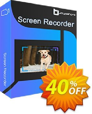 JOYOshare Screen Recorder for Mac discount coupon 40% OFF JOYOshare Screen Recorder for Mac, verified - Fearsome sales code of JOYOshare Screen Recorder for Mac, tested & approved